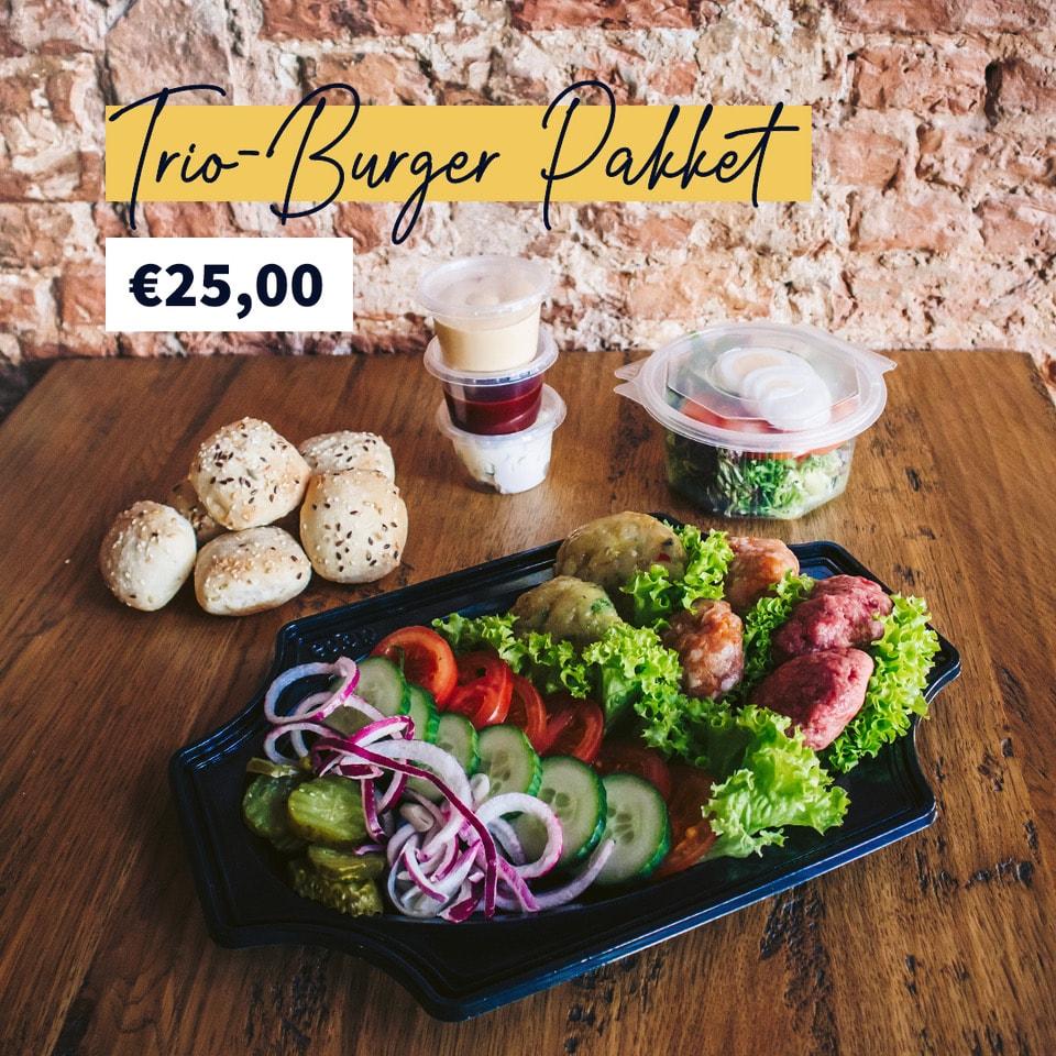 Trio-Burger Pakket